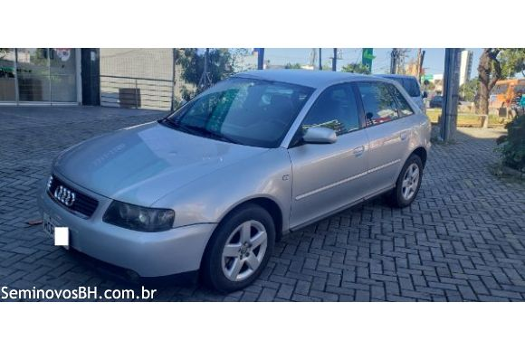 Audi A3 1 8 1 8 5p Mec  04  05 Prata
