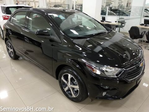 Seminovos BH   Chevrolet Onix 1.4 8V LTZ cor Preto 2018 2019 4a9a18c1a4