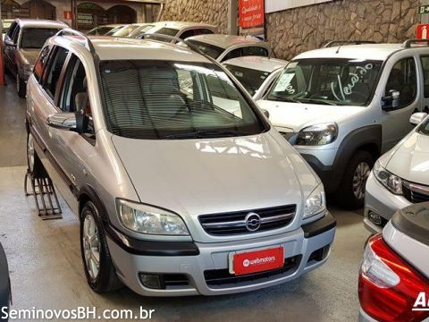 Seminovos Bh Chevrolet Zafira 20 8v Elite Automtico Cor Bege