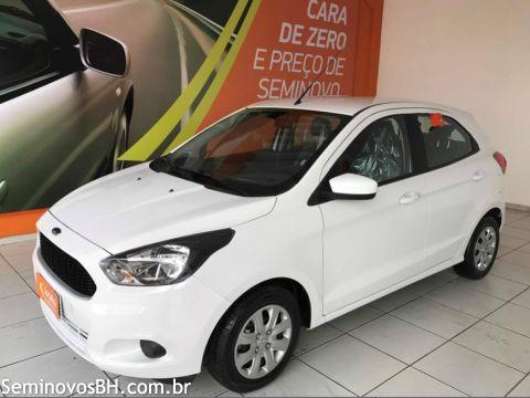 Ford Ka Hatch 1 0 Flex 18 18 Branco Belo Horizonte Seminovos