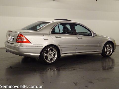 W203 C32K AMG 2001/2001 - R$ 98.500,00 Mercedes-benz-c-320-2001-2001-861858-2535e058aea19916e3de2a5eaa7dc2932093