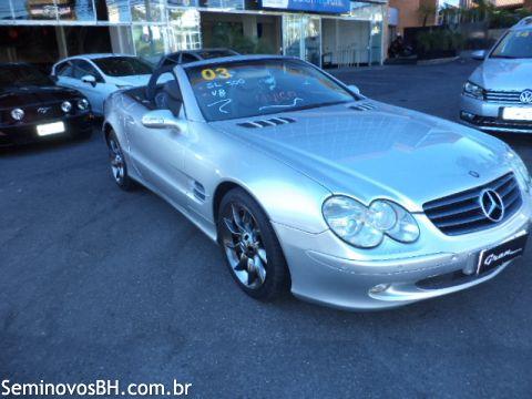 Mercedes Benz SL 500 5.0 Coupe Conversivel