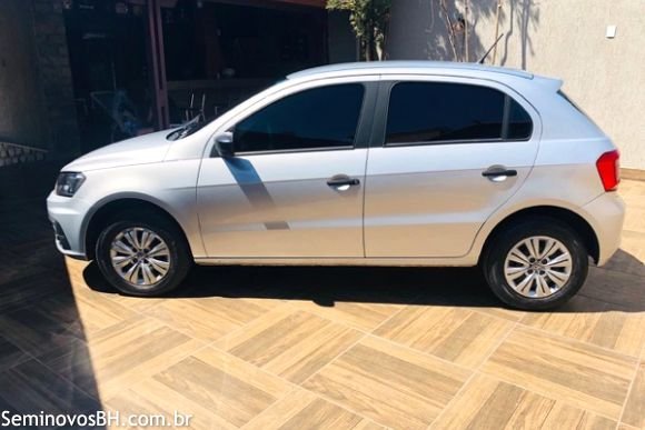 Volkswagen Gol 1 0 Trendline 1 0 T Flex 12v 5p 17 17 Prata